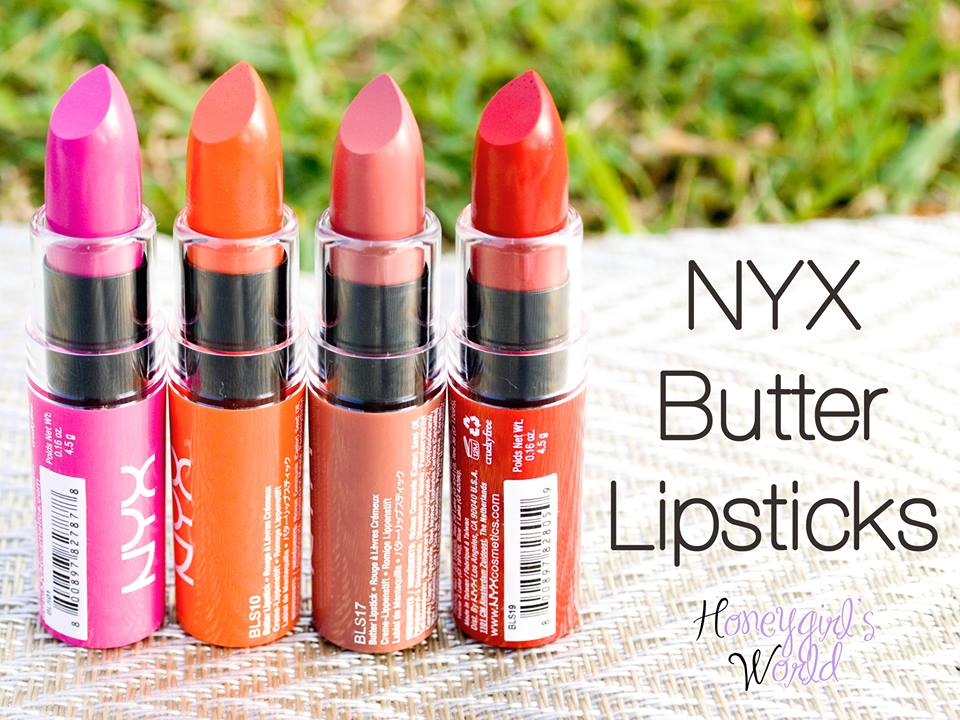 [NYX] Son thỏi Butter lipstick 2014