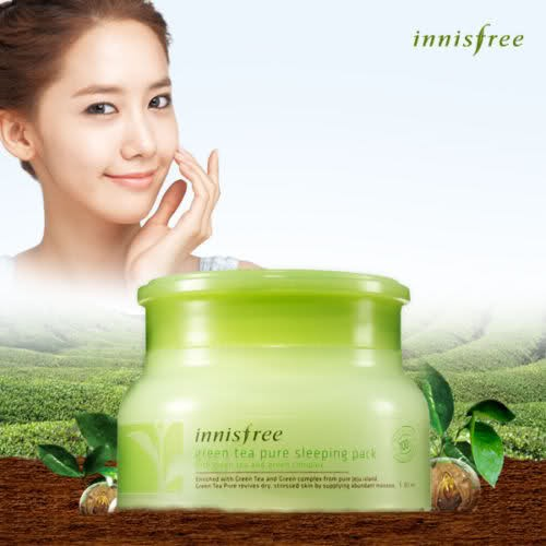 [Innisfree] Green Tea Sleeping Mask 80ml