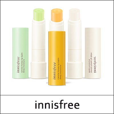[INNISFREE] Son dưỡng Innisfree Canola honey lip balm 3.5g