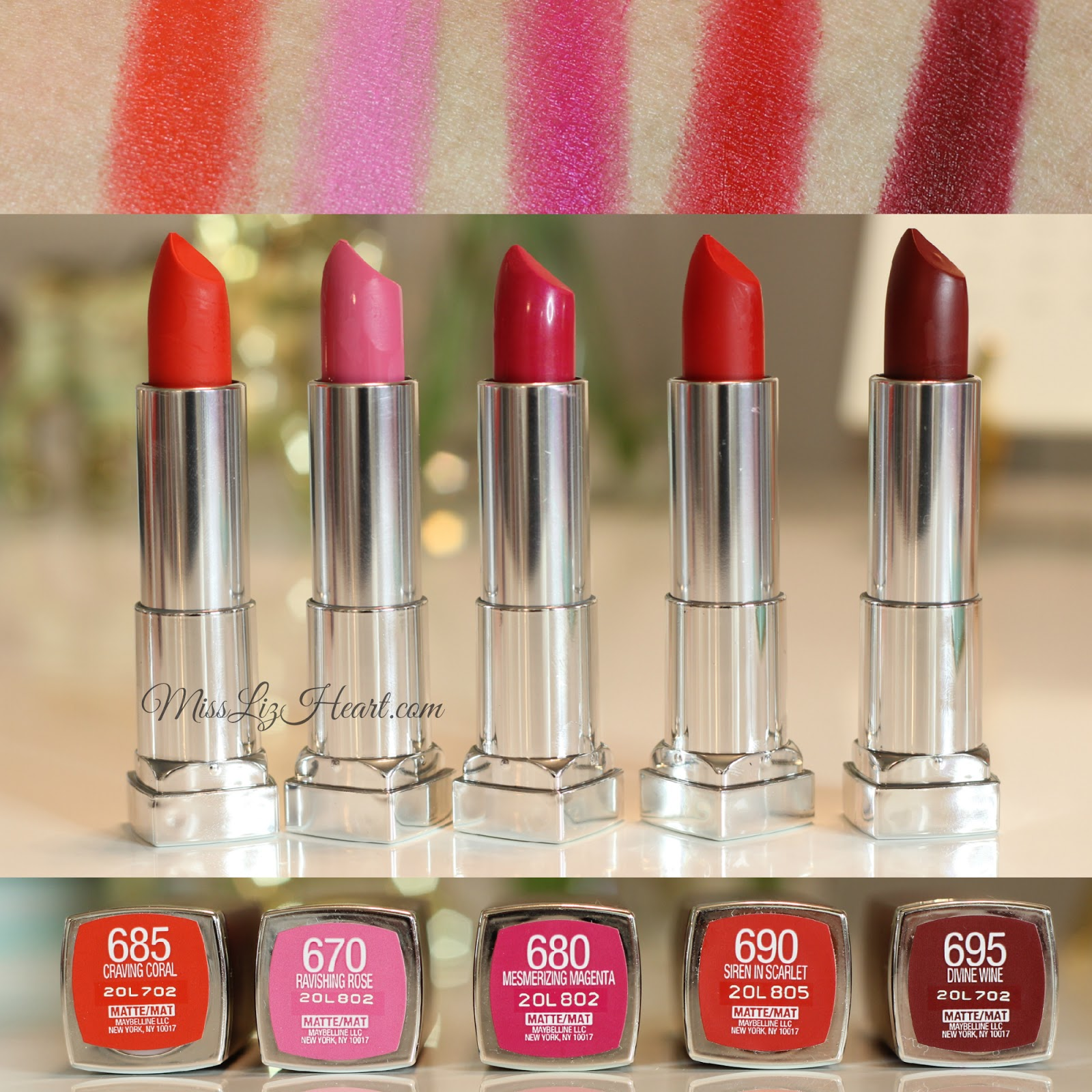 Son Maybelline Color Sensational Creamy Matte Lipstick